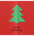 Abstract xmas tree vector image