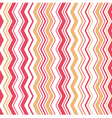 Zigzag seamless colorful pattern background vector image vector image