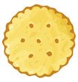 biscuit cookie cracker vector image