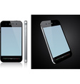 Touchscreen smartphone concept vector image