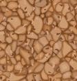 seamless cork texture vector image