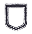 shield icon icon in blurred silhouette vector image