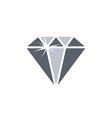 shiny diamond jewelry theme vector image