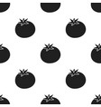 tomato icon black singe vegetables icon from the vector image