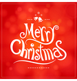 christmas greeting card decoration background vector image vector image