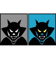 Dracula halloween mask 1 vector image
