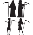 Grim reapers vector image