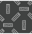 Rubber stamp COLLECTION pattern vector image
