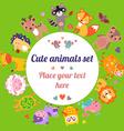 AnimalsCirTx vector image