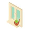 window icon isometric style vector image