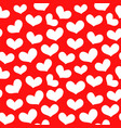 hearts seamless pattern 2 vector image