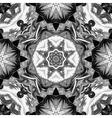Seamless mandala pattern Vintage decorative vector image