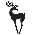 beauty deer vector image