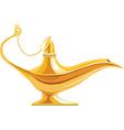 Lamp of Aladdin vector image