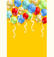 abstract festive greeting template vector image