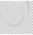 white of wavy banner vector image vector image