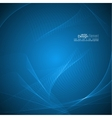Abstract background with soft lines vector image