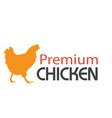 bbq premium chicken image vector image