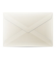 Blank envelope isolated on white background vector image