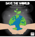 Save the world conceptual EPS1 vector image