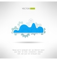 Cloud service icon Network technology in progress vector image