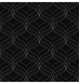Black elegant seamless pattern vector image