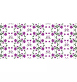 Abstract Floral ornament pattern vector image