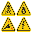 Set of Warning Sign vector image