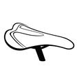 Bike Saddle sketch vector image