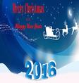 festive background for Christmas vector image