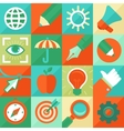 graphic design concept in flat style vector image