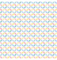 Colorful many geometric circle seamless pattern vector image