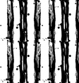 Seamless pattern stripes Black and white vector image