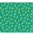Ginkgo biloba leaves seamless pattern vector image