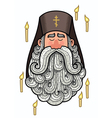 Orthodox Priest vector image vector image