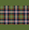 blue green check plaid seamless pattern vector image