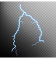 Lightning isolated EPS 10 vector image
