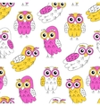 Owlet seamless pattern vector image