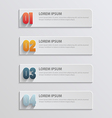 paper infographic9 vector image