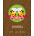 St Patricks day pub and party invitation vector image
