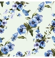 Blue flowers 6 vector image