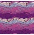 Wave Hair Pattern Purple vector image