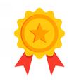 Gold Award Icon vector image