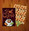 hot cokolate vector image