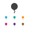 of infant symbol on balloon vector image