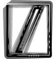 Striped Symbol vector image