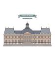 Vaux-le-Vicomte France vector image