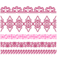 oriental traditional pattern vector image