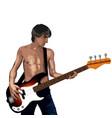 rock star vector image