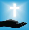 Religious cross Vector Image